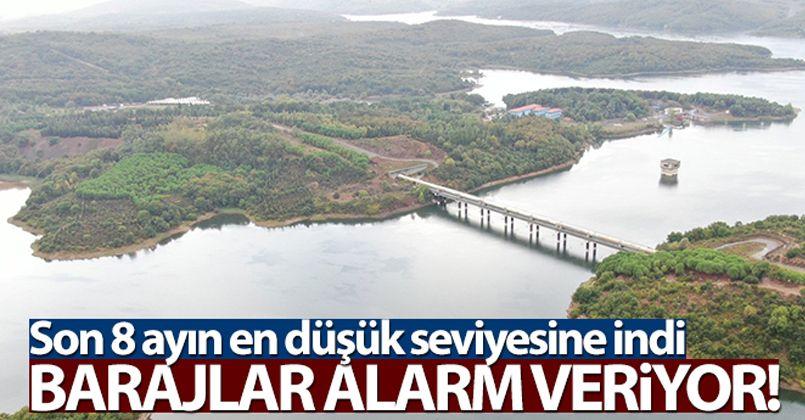 İstanbul barajlarında doluluk oranı son 8 ayın en düşük seviyesinde