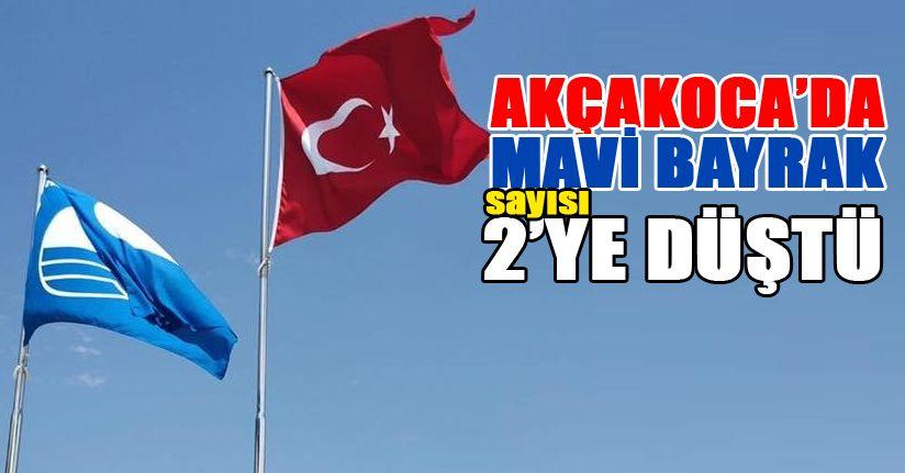Akçakoca'da Mavi Bayrak Sayısı 2'ye düştü