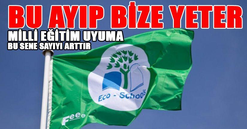 Yeşil bayraklı tek devlet okul Çilimli'de