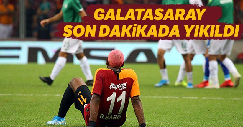 Galatasaray 1 - Konyaspor 1