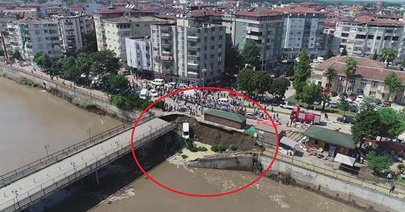 Selin vurduğu Terme'de facianın eşiğinden dönüldü