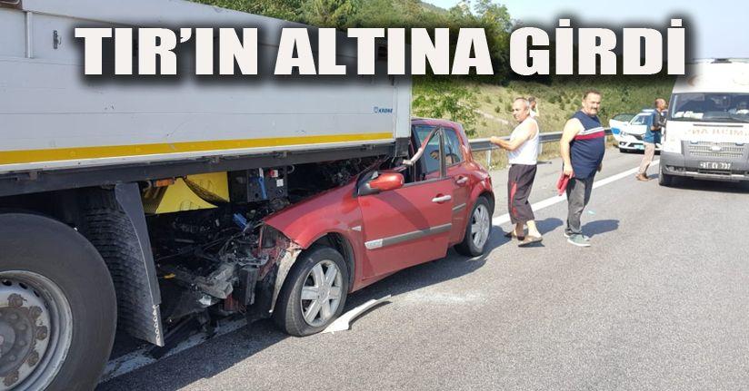 Gümüşova Rampalarında Kaza 4 Yaralı