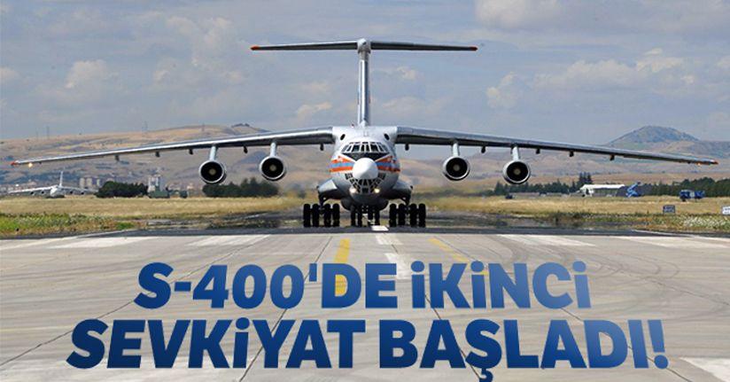 S-400'de ikinci sevkiyat başladı