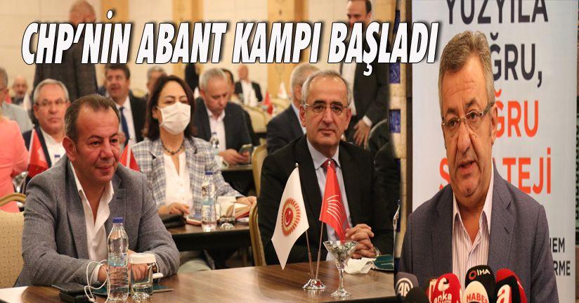 CHP'nin Abant Kampı Başladı