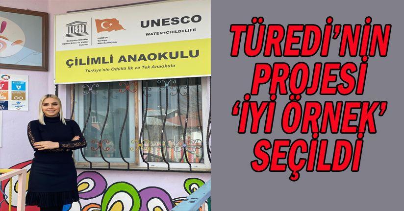 Çilimli Anaokulu Müdiresi Nuray ERAN TÜREDİ'ye Bir Ödül Daha