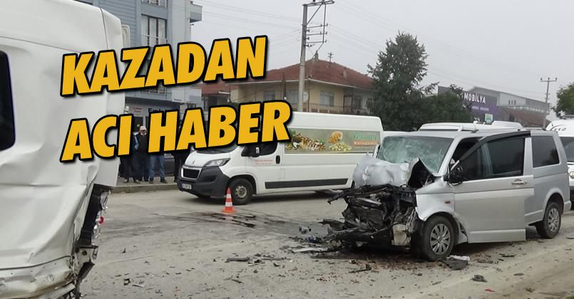 Kazada ağır yaralanan Veli Cellat hayatını kaybetti