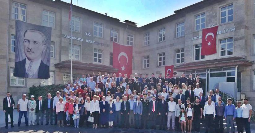 Akçakoca'da 30 Ağustos Zafer Bayramı Kutlandı
