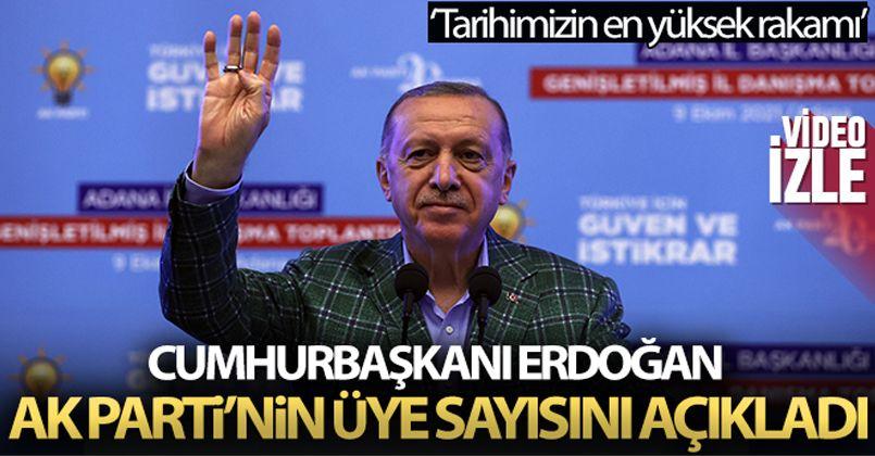 Cumhurbaşkanı Erdoğan:Açıkladı