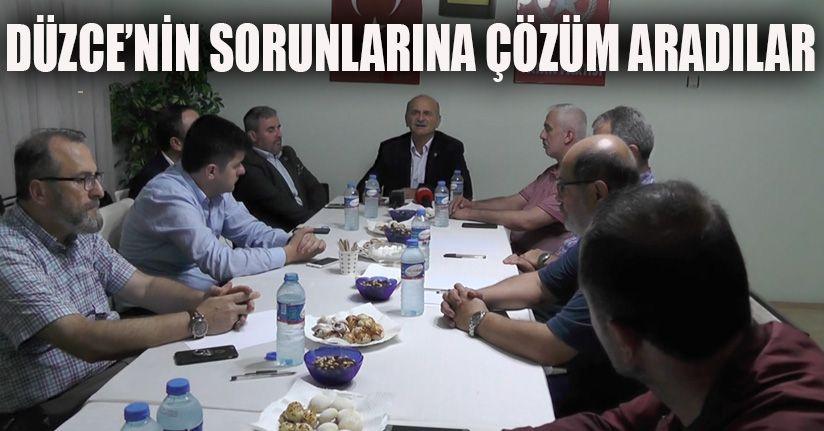 İl Başkanları Aylık Toplantısı Gerçekleştirildi