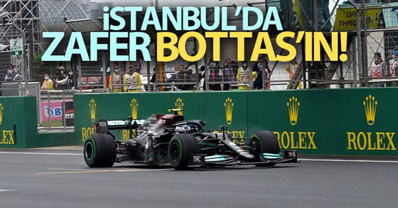 İstanbul'da zafer Mercedes pilotu Valtteri Bottas'ın