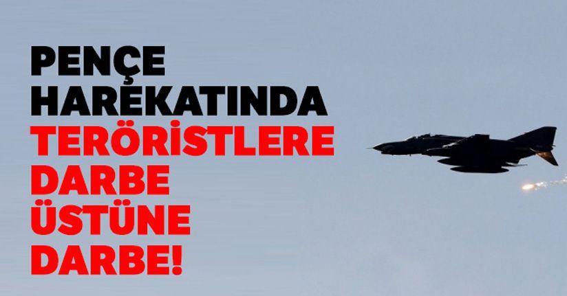 Pençe Harekatında 9 PKK'lı terörist daha etkisiz hale getirildi