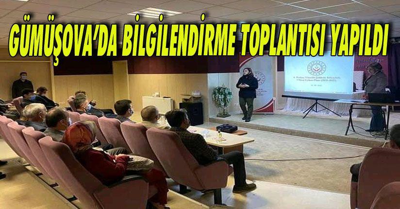 Gümüşova'da Bilgilendirme Toplantısı Yapıldı