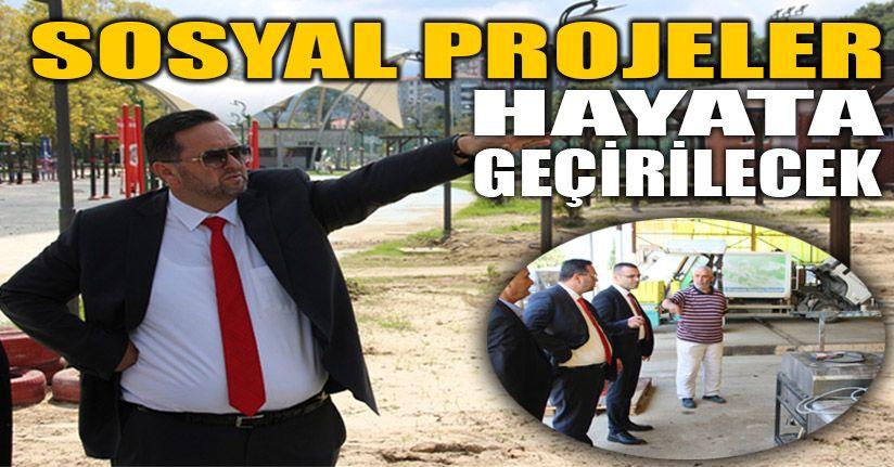 Başkan Yanmaz Aguapark için çalışma başlattı
