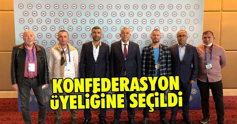 Erdoğan Bıyık konfederasyon yönetimine girdi