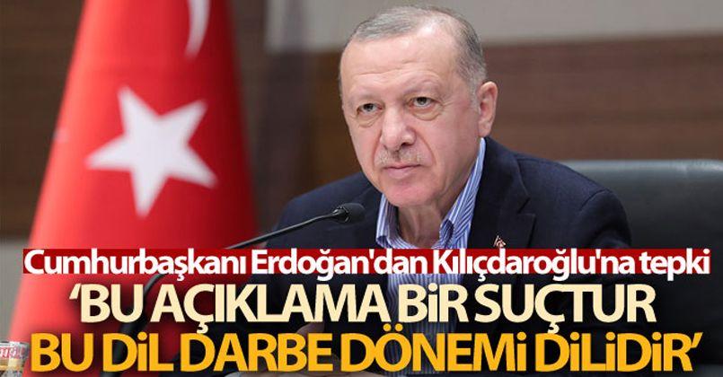 Cumhurbaşkanı Erdoğan: 'Bu açıklama CHP zihniyetinin vesayet zihniyeti olduğunun açık bir itirafıdır'