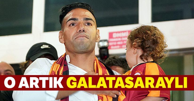 Galatasaray Falcao transferini resmen açıkladı