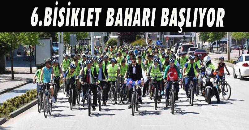 6.Bisiklet Baharı Başlıyor