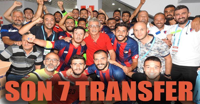 Düzcespor`dan 7 transfer daha