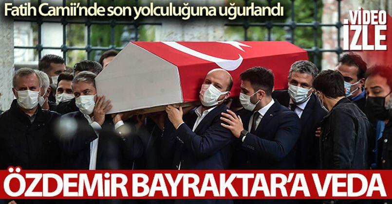 Baykar Yönetim Kurulu Başkanı Özdemir Bayraktar, son yolculuğuna uğurlandı