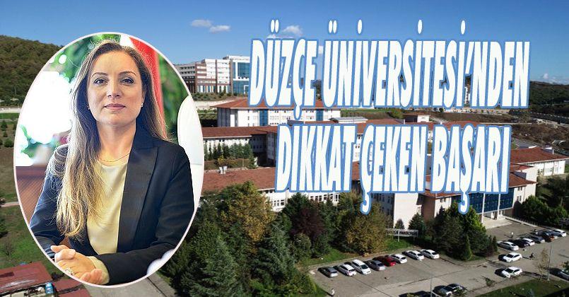 Düzce Üniversitesi'nden Dikkat Çeken Başarı