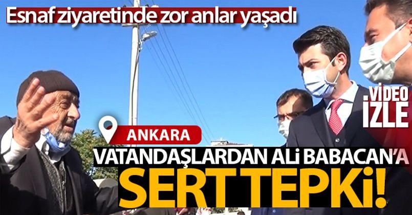 Vatandaşlardan Ali Babacan'a sert tepki!