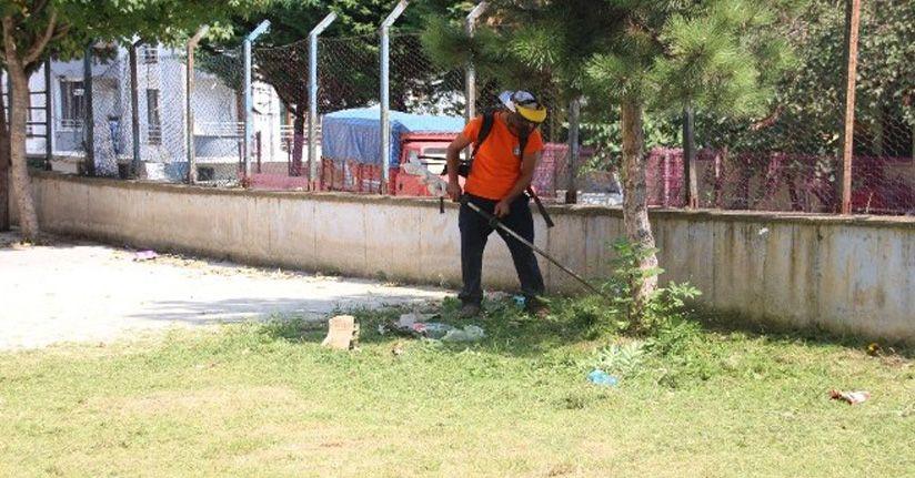 Okul Çevreleri Temizleniyor