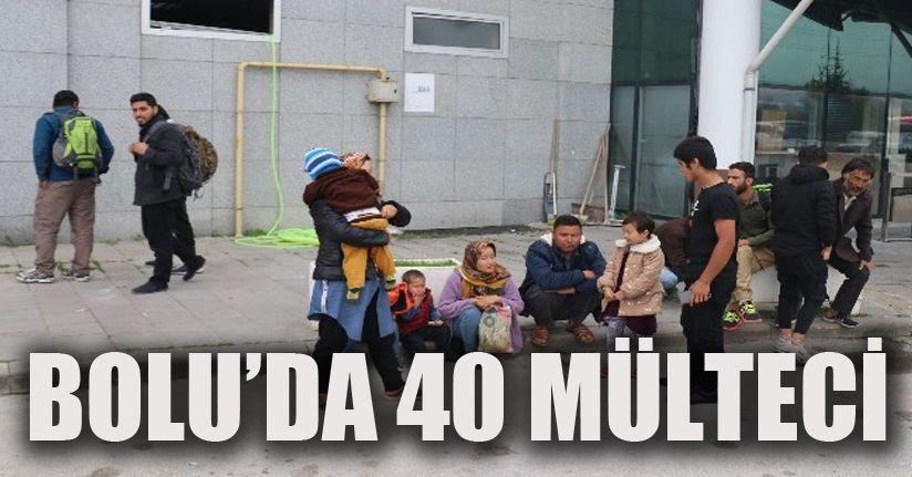 İstanbul'a götürülme vaadiyle 40 mülteci Bolu'da bırakıldı