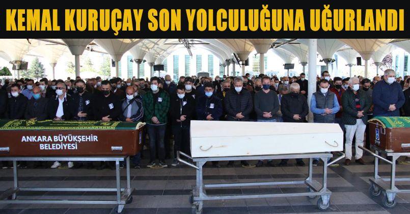 Ünlü oyuncu Kemal Kuruçay son yolculuğuna uğurlandı