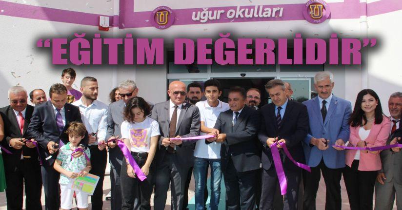Düzce Uğur Fen ve Anadolu Lisesi açıldı