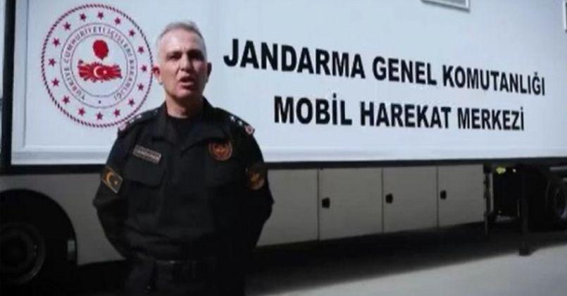 İçişleri Bakanlığı, 'Jandarma Genel Komutanlığı Mobil Harekat Merkezi'ni tanıttı