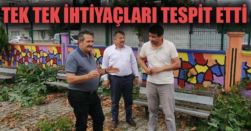 Başkan Koloğlu okulları gezdi