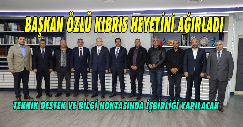 Başkan Özlü, Kıbrıs Heyetini Ağırladı