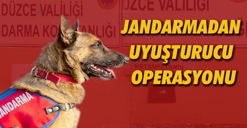 Jandarmadan Beyköy ve Gölyaka'da Uyuşturucu Operasyonu