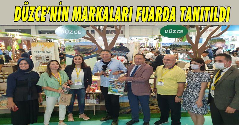 Düzce'nin Markaları 11. Antalya YÖREX- Yöresel Ürünler Fuarı'nda Tanıtıldı