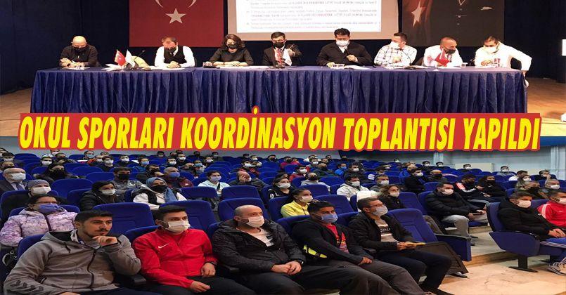 Okul Sporları Koordinasyon Toplantısı Yapıldı