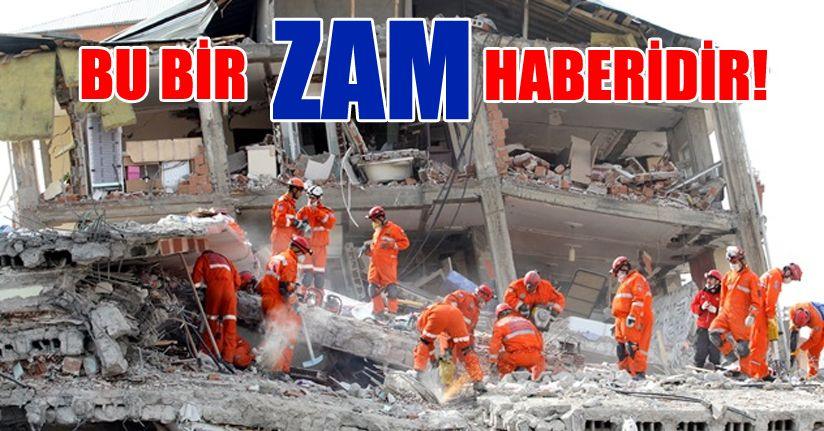 Zorunlu Deprem Sigortası'na zam yapıldı