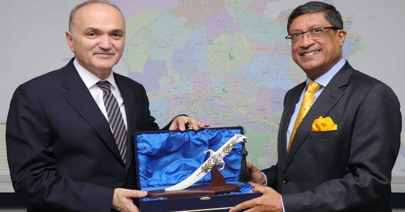 Hindistan Büyükelçisinden Başkan Özlü'ye Ziyaret