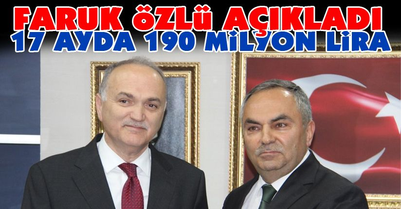 Özlü: Belediye'nin borcu 451 Milyon Lira