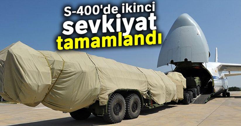 MSB: 'S-400'lerin ikinci batarya malzemelerinin Ankara'ya intikali tamamlan