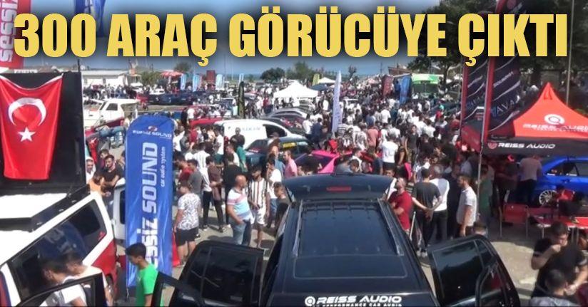 Klasik ve Modifiye Araç Tutkunları Akçakoca'da Buluştu
