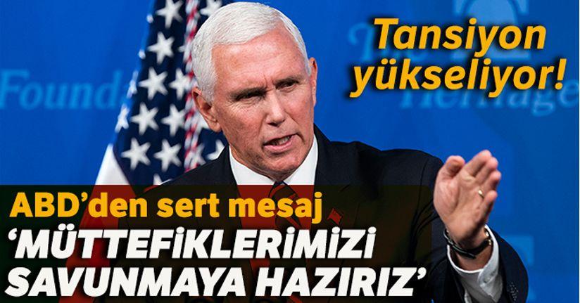 ABD Başkan yardımcısı Pence'den İran'a Suudi Arabistan mesajı
