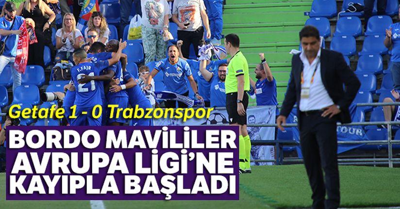 Getafe 1-0 Trabzonspor