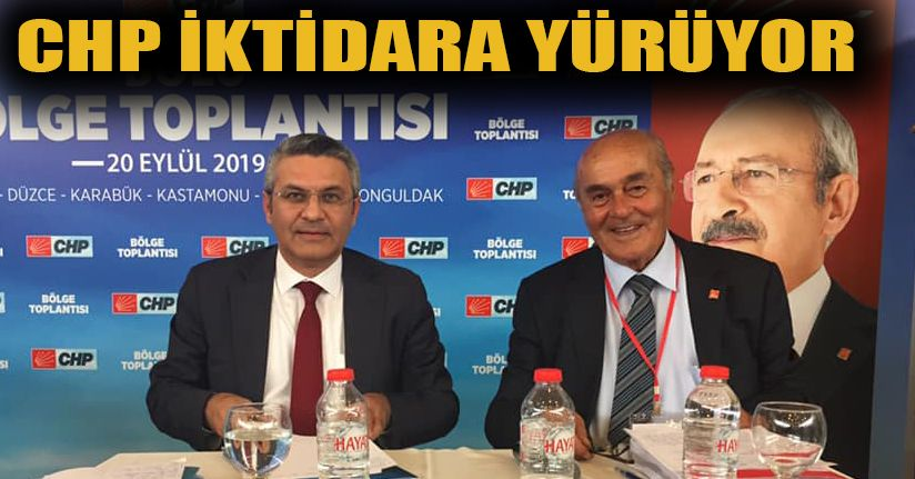 CHP, Bölge Toplantısını Bolu'da Yaptı