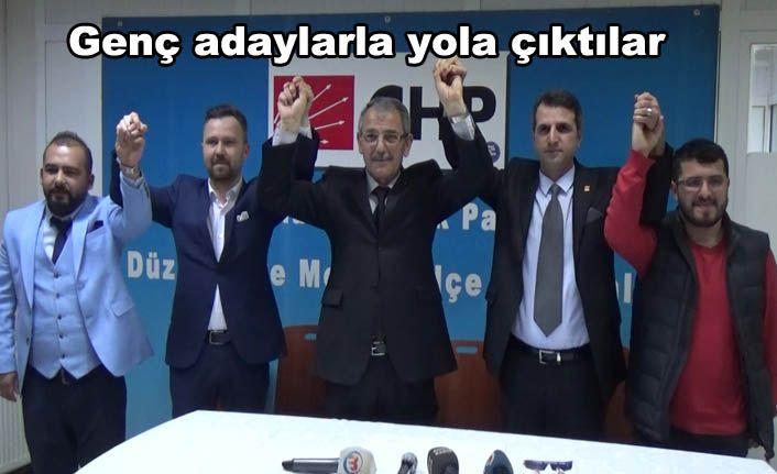 CHP İGM Adaylarını Tanıttı