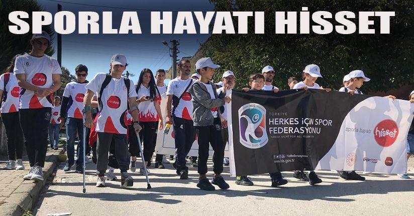 'Sağlık için Birlikte Yürüyelim'
