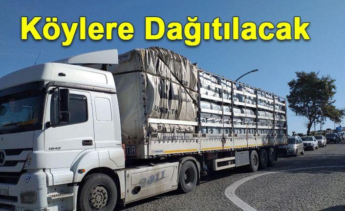 Bakanlıktan Akçakoca'ya 250 Adet Çöp Konteyneri