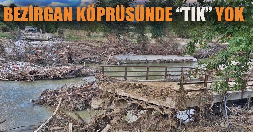 Uğurlu- Bezirgan Köprüsü Sahipsiz Kaldı