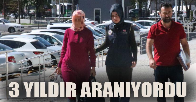 3 yıldır firari FETÖ şüphelisi kadın adliyeye sevk edildi