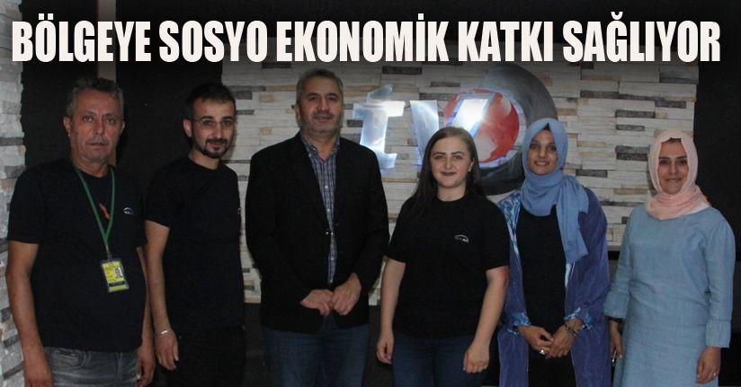 DİDER'den Düzce TV'ye ziyaret