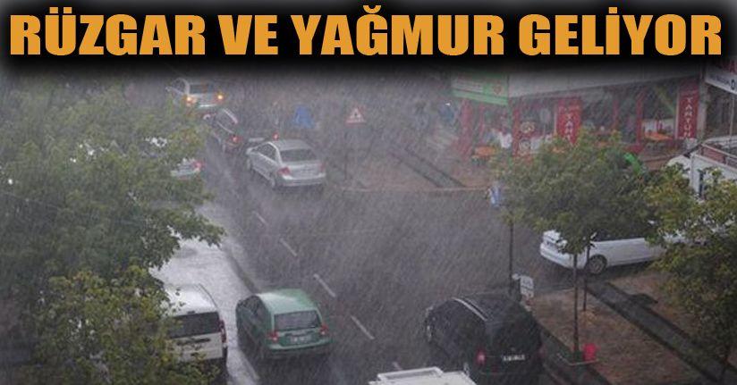 Hafta sonu yağış uyarısı